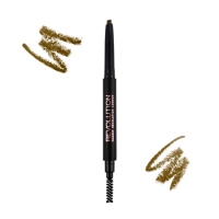 REVOLUTION DUO BROW PENCIL-LIGHT BROWN