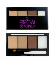 I HEART REVOLUTION BROW KIT - FAIREST OF THEM ALL -SZEMÖLDÖK PALETTA
