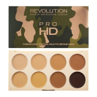 Makeup Revolution Ultra Pro HD Camouflage- korrektor paletta - Medium Dark