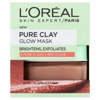 L'Oréal Paris Skin Expert Pure Clay- bőrfelszín-finomító maszk -50 ml