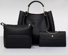 Tamara- 4 részes táska szett-Fekete