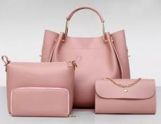 Tamara- 4 részes táska szett-Pink