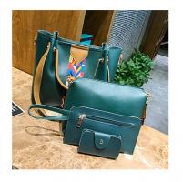 Teónia-4 részes táska szett-Zöld